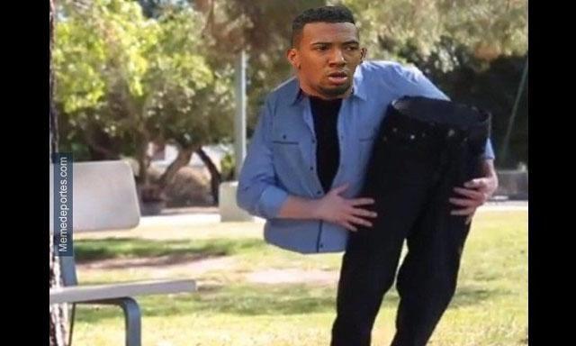 Memes a Jerome Boateng tras jugada de Lionel Messi
