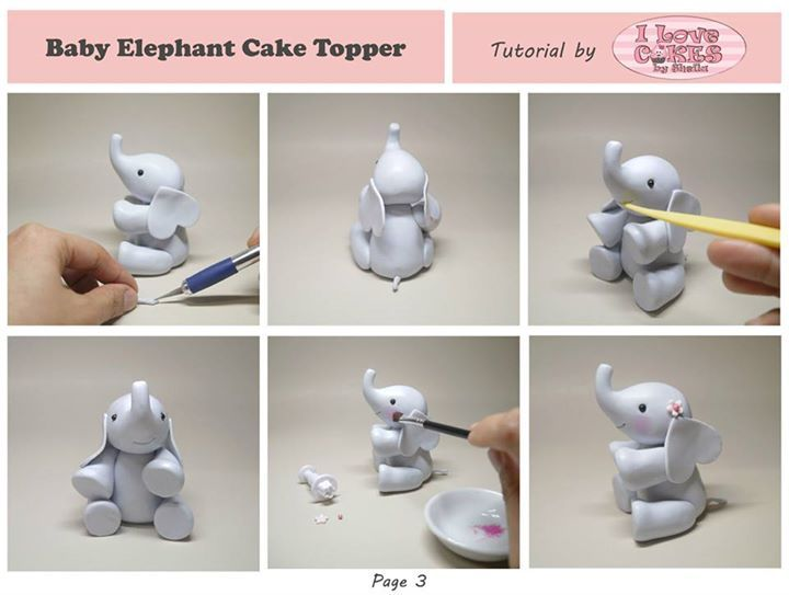 1000+ ideas about Fondant Elephant Tutorial on Pinterest ...