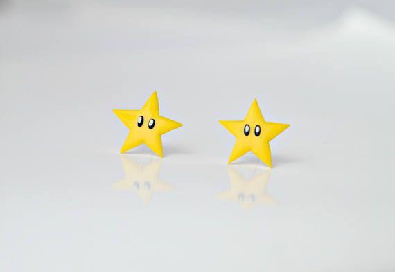 Super Mario Stars - earrings