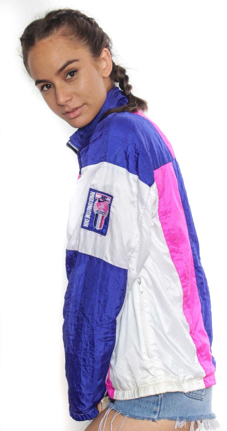 Vintage Nike Colourblock Spray Jacket