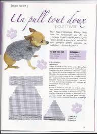 Afbeeldingsresultaat voor vetement chien crochet