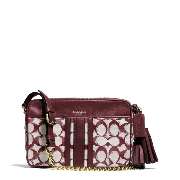 3c62ce2296ed ... crossbody in leather 85ad0 583a4  coupon code for the legacy flight bag  in needlepoint signature fabric from coach 1922d 4c6da