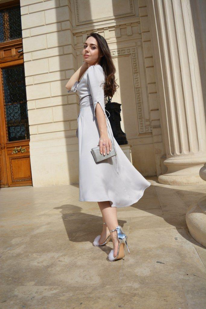 Silver Silk Dress Ilpasso Flurry Sandals Parfois Silver Clutch