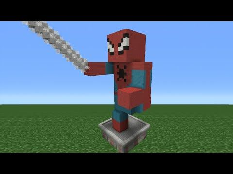 Spider Statue Minecraft Pin by Abby Pet...