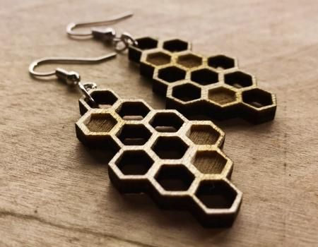 Honeycomb Earrings | Best Gift Idea Ever