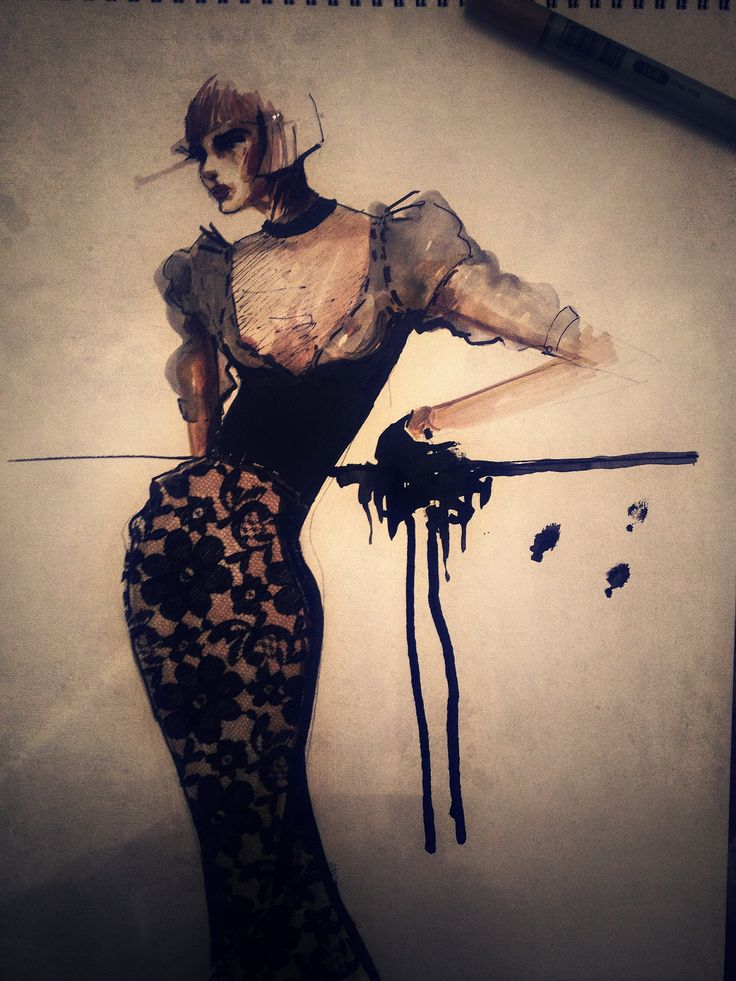 Fashion Illustrations made by Marie Ollie designer --> Arhtur Dinu www.marieollie.com / https://www.facebook.com/marieollie