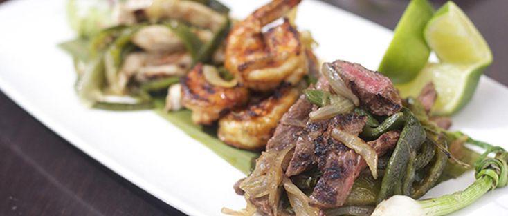 Wood Grilled Tacos al Carbon (Tacos de Arrachera al Carbon con Rajas) | The Latin Kitchen