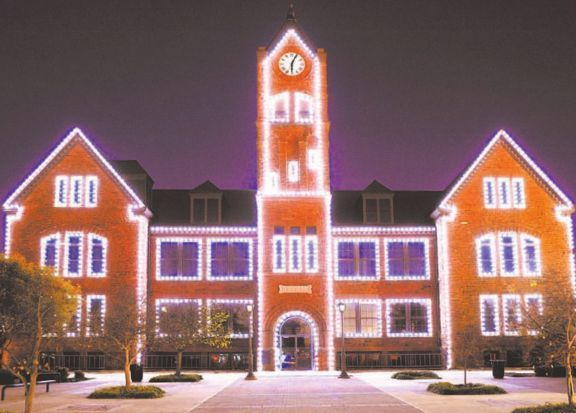 Of the many bright spots each holiday season, seeing the array of lights adorning the landscape is undoubtedly the brightest. The University of Central Oklahoma celebrates each year with WinterGlow, which features caroling and Santa himself in addition to some beautiful scenery. Activities are from 6-9 p.m. Friday on the UCO campus, 100 N. University Drive in Edmond. Admission is free. Call 974-2363 or visit uco.edu/winterglow.