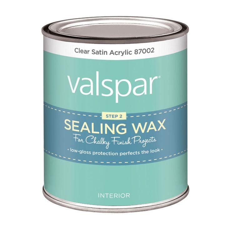 Best Sealing Wax For Chalk Paint