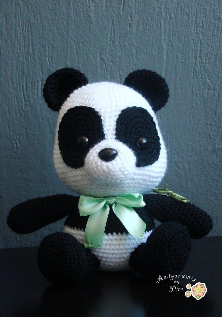 Amigurumi Little Bigfoot Panda : 17 Best images about Panda on Pinterest Free pattern ...