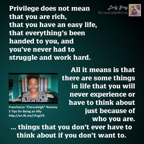 definition of privilege
