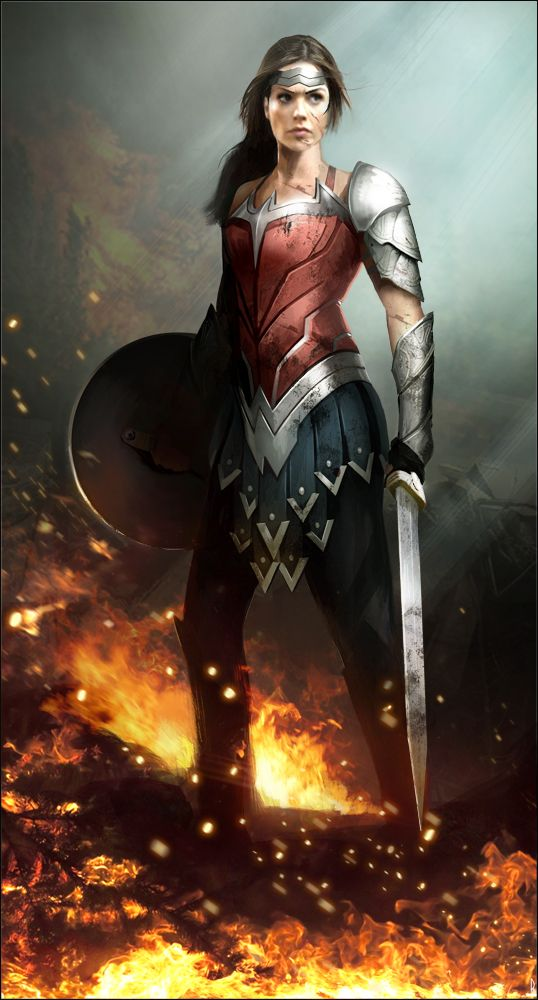 Gal Gadot Wonder Woman by Happy-Mutt. I really love this armour - it actually looks somewhat protective!