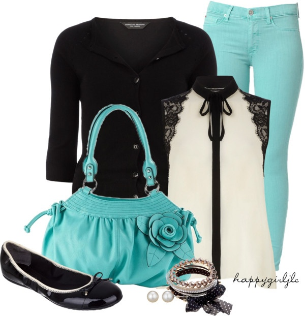 """Mint Chocolate Chip"" by happygirljlc on Polyvore"