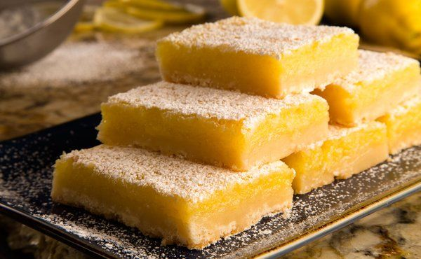 Murder, She Baked: Lovely Lemon Bar Cookies in Recipes on The Food Channel®
