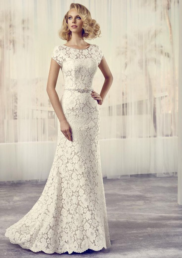 wedding dress hire cape town northern suburbs%0A Trouwjurk Le Papillon by Modeca Model  Saffron