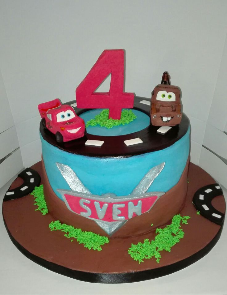 Cars Cake, Cakes by Lizzie, Cape Town, South Africa