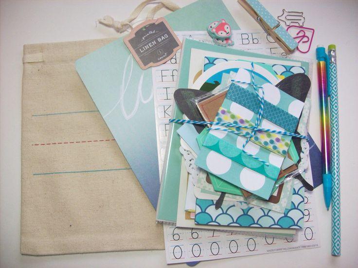 Blauwe Planner Kit / briefpapier Kit / Pen Pal / restanten van boeken / Journaling / Planners door ASprinkleOfLovely op Etsy https://www.etsy.com/nl/listing/476493753/blauwe-planner-kit-briefpapier-kit-pen