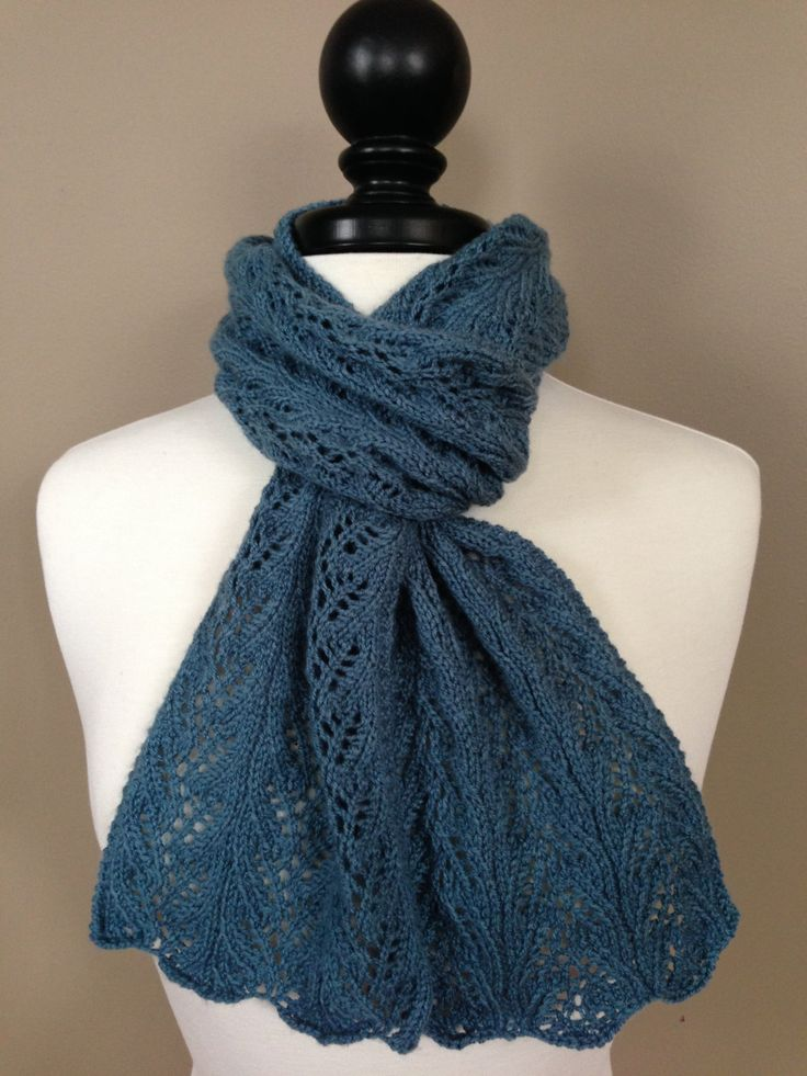 The Aria Lace Scarf by KnotYourAvgKnits on Etsy
