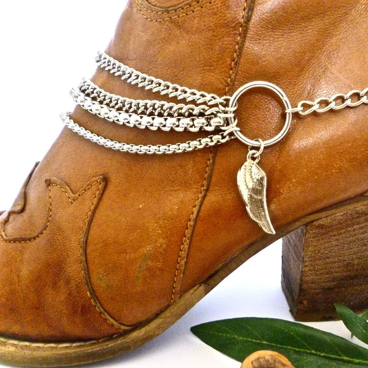 A boho boot chain Christmas from www.bootbooti.etsy.com                                                                                                                                                                                 More