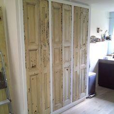 kast van oude deuren - Google zoeken haha dat is mijn kast! mijn ontwerp, www.stijlburospot.nl