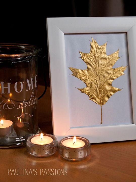 DIY Fall Decoration from Paulina's Passions. #fall #diy http://thebigclockstore.com/category/blog/