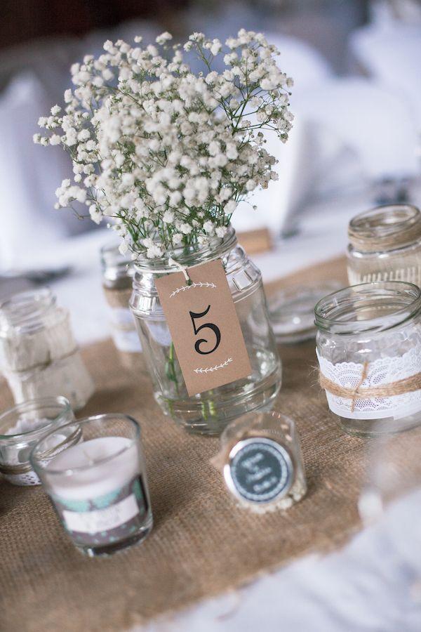 Mariage DIY, champêtre et classic: décoration romantique