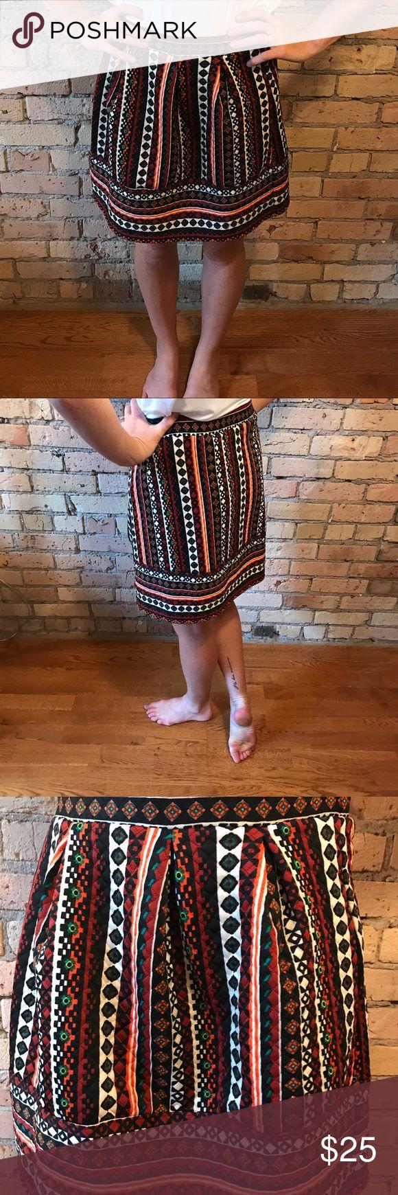 Size medium new without tags tribal skirt Size medium new without tags tribal skirt, stretchy material. Xhilaration Skirts Midi