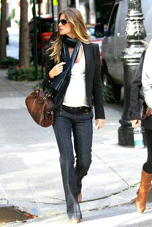 Gisele Bundchen at 31: Hottest Mom Ever!: Super-Fit Pregnancy