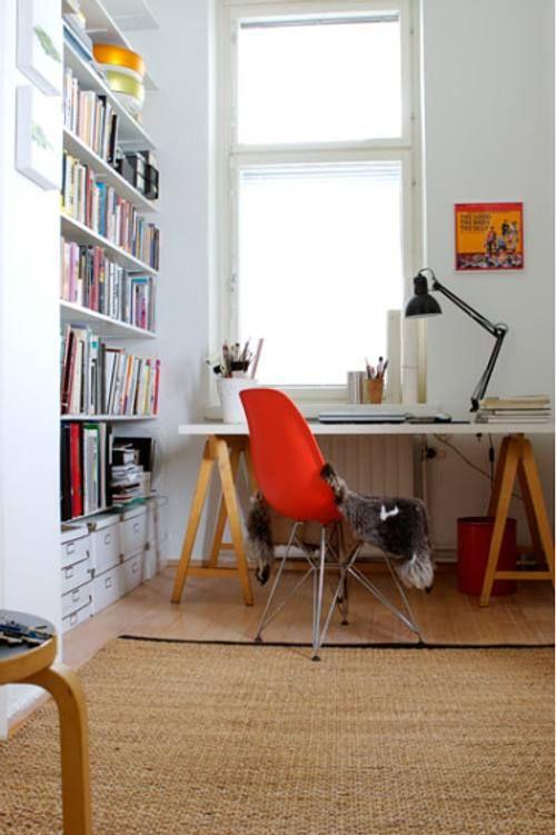 17 mejores im genes sobre oficina y escritorios home - Decoracion oficina pequena ...