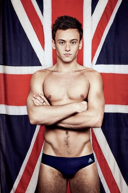 Tom Daley.. I mean we share the dame birthday so.. Why not