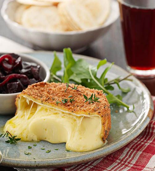 Surprising and playful flavours come together in this delicious Camembert recipe.