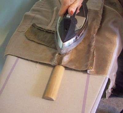 Como fazer uma vara alfaiates costura ( de madeira ferramenta de pressão ) .