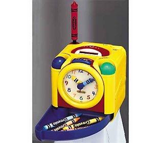 Crayola(R) Cube Radio & Alarm Clock by Polyconcept have one love it