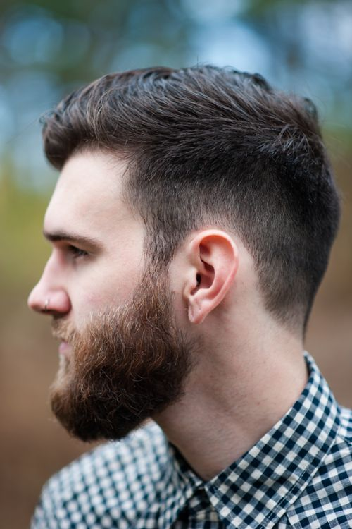 Phenomenal 1000 Images About Beards And Hairstyles On Pinterest Rockabilly Short Hairstyles For Black Women Fulllsitofus