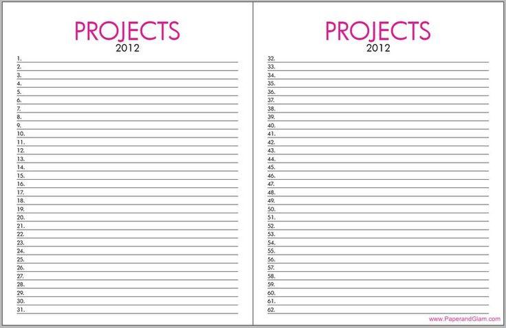 Printable Life Planner. www.paperandglam.com   PAPER ...