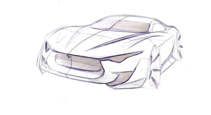 Maserati Alfieri Sketch