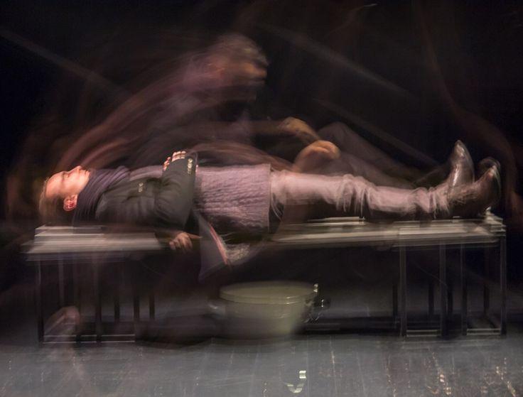 August Strindberg - Zabawy z ogniem (2015), Olsztyn, reż. Andrzej Majczak