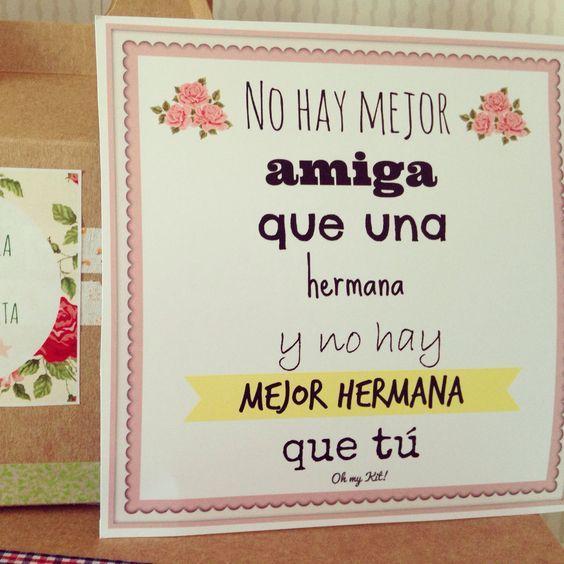 Frases para una hermana