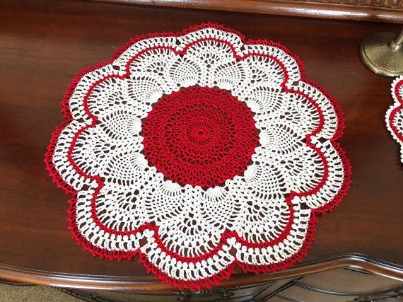 24 best Christmas Crochet Decor images on Pinterest | Crochet ...