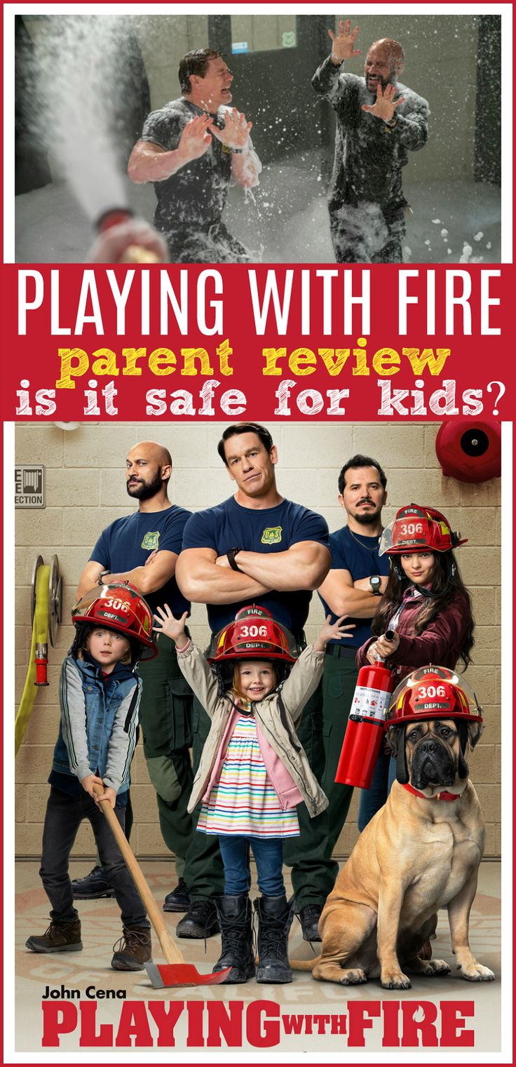 Playing with Fire Movie Review Safe for Kids? fire