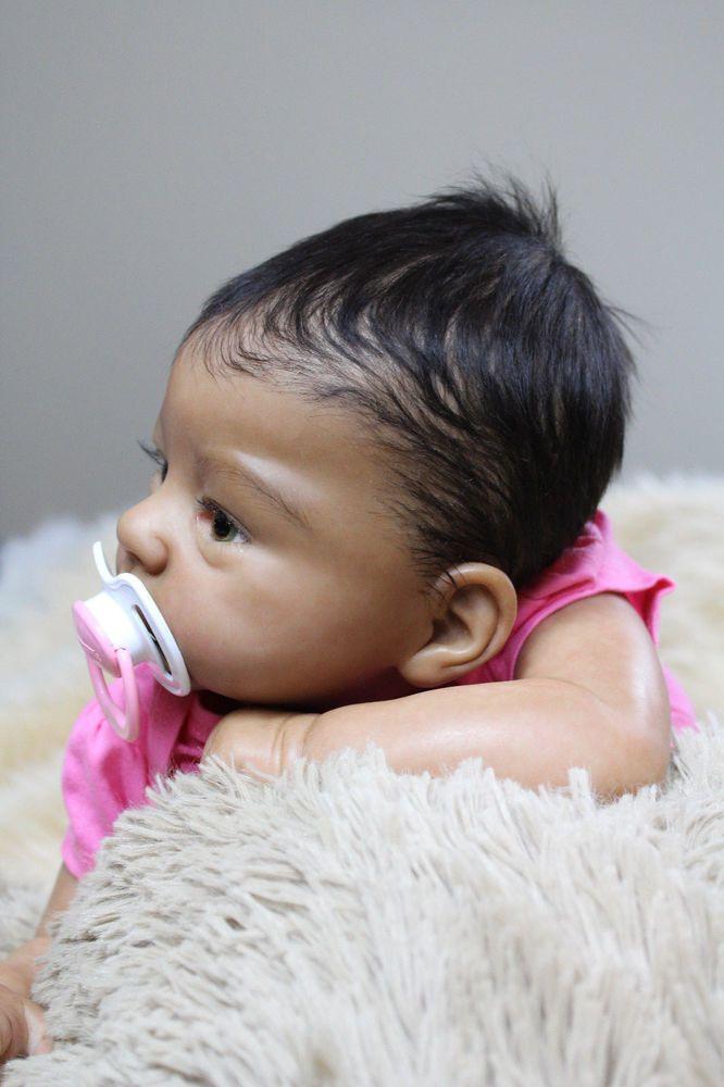 Beach Babies Reborn AA Biracial Ethnic Baby Doll From Harlow/Laura Tuzio Ross