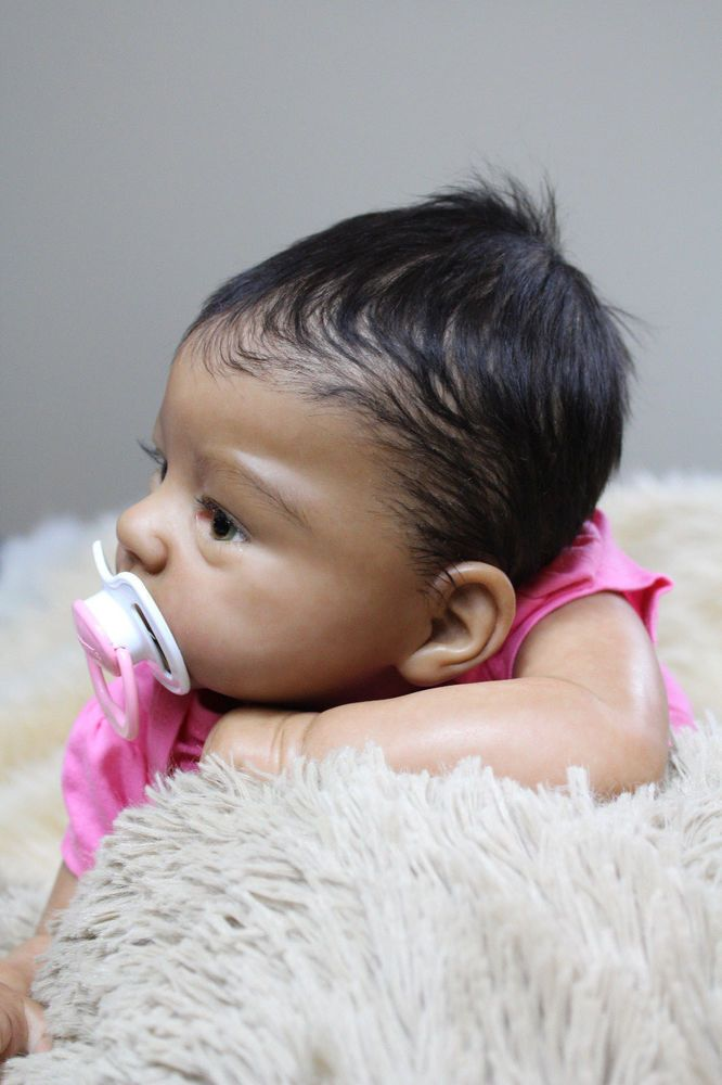 Beach Babies Reborn AA Biracial Ethnic Baby Doll From Harlow/Laura Tuzio Ross