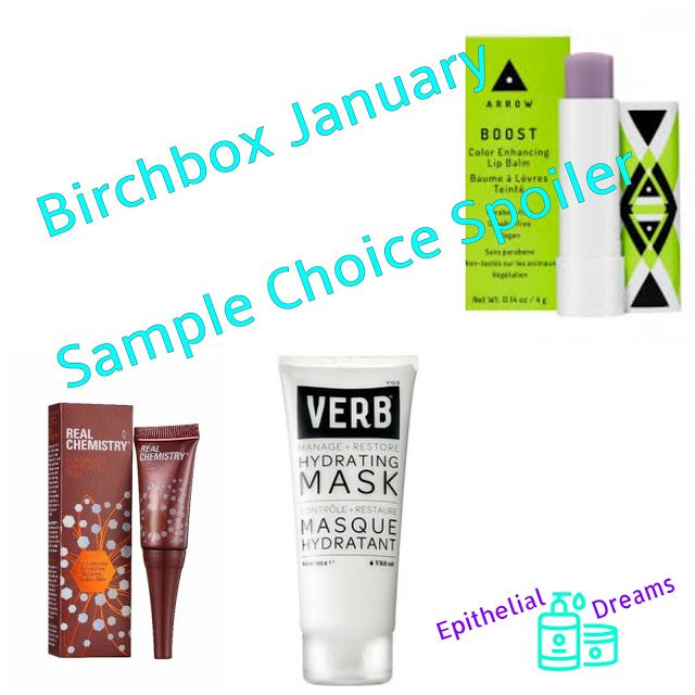 Birchbox January Sample Choice Spoiler 2018 Birchbox Hydrating Mask The Balm