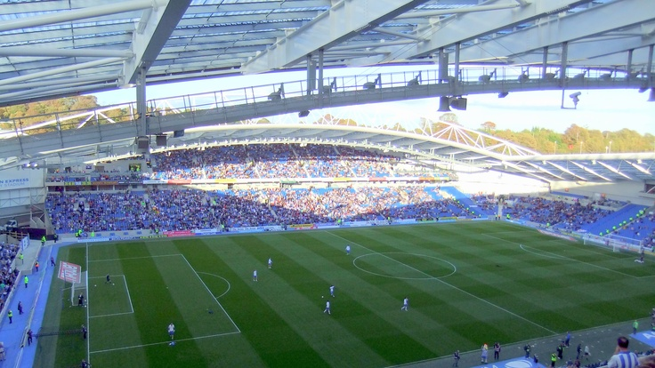 The Amex Stadium - Brighton & Hove Albion's ground #bhafc