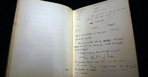Un manuscrit d'Alan Turing vendu un million de dollars aux enchères