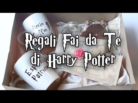 REGALI DI HARRY POTTER FAI DA TE ⚡️ BACCHETTA | LETTERA | TAZZA | PENNA | POZIONI - YouTube