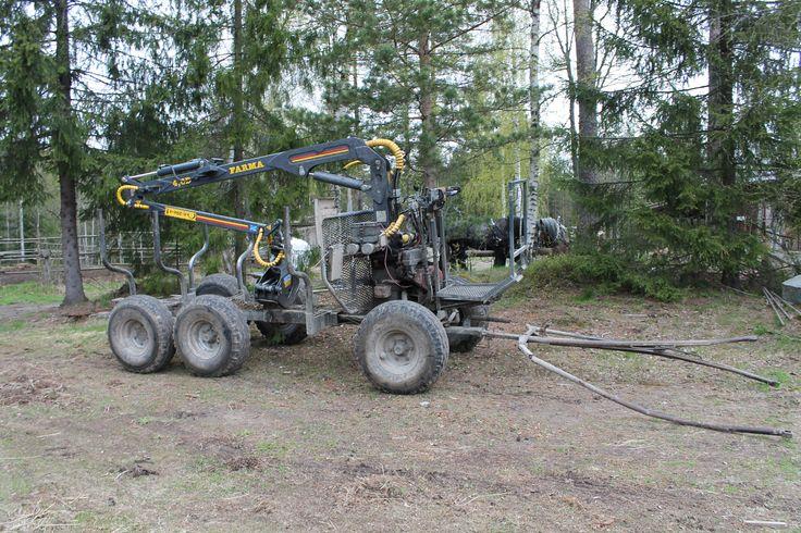 #Horse drawn forest cart www.tyohevoset.fi