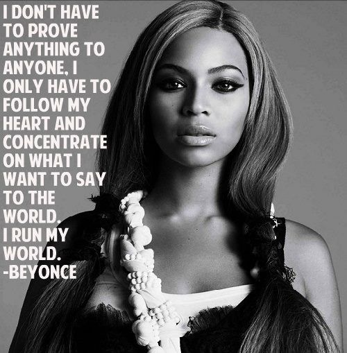 Most women have no rules they do what it takes to get where they want to be. This is because women are warriors and will fight for their success without giving up. Beyoncé, a famous singer, is a great example of a warrior women that has done everything to get to the top.