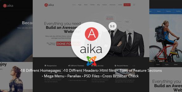 Aaika – is clean multipurpose Joomla Template. It is great, professional and easy to use.  You can use it for Corporate, Creative, Fashion, Photo Studio, Freelancers, Portfolio Theme, etc.      Our...
