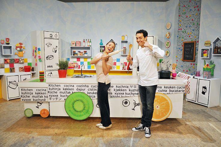 Carolina e Alessandro Alberto il nostro suggeritore #raiexpo #ricetteacolori #raigulp #carolinarey #alessandrocirciello #winx #tv #cibo #ricette #gioco #bimbi